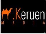 Логотип KERUEN MEDIA(Керуен медиа),ТОО