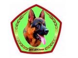 Логотип Центр служебного собаководства ДОСААФ
